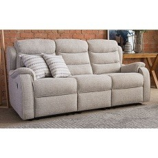 Parker Knoll Michigan 3 Seater Manual Recliner Sofa