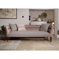 Tetrad Harris Tweed Arran Grand Sofa - Option B (Fabric with Leather Arms)
