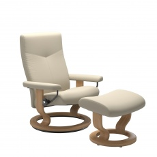 Stressless Dover Classic Chair & Stool - Express Delivery