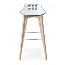 Connubia Calligaris Jam Wood Bar Stool (Tall)