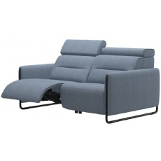 Stressless Emily Powered Right 2 Seater Sofa With Steel Legs