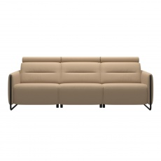 Stressless Emily 3 Seater Sofa With Steel Legs