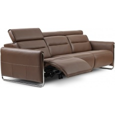 Stressless Emily Powered Right 3 Seater Sofa With Steel Legs