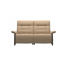 Stressless Mary 2 Seater Sofa With Power - Wood Arm