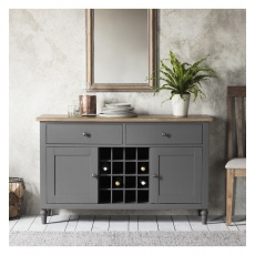 Frank Hudson Cookham Large Sideboard Grey