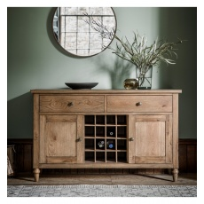 Frank Hudson Cookham Large Sideboard Oak