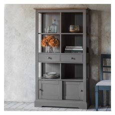 Frank Hudson Cookham Bookcase Grey