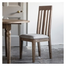 Frank Hudson Cookham Dining Chair Oak (Pair)