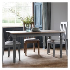 Frank Hudson Cookham Extending Dining Table Grey
