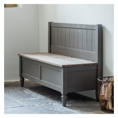 Frank Hudson Cookham Hall Bench Grey