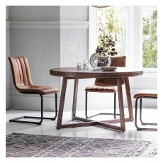 Gallery Hudson Boho Retreat Round Dining Table