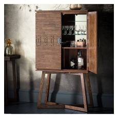 Galery Hudson Boho Boutique Cocktail Cabinet