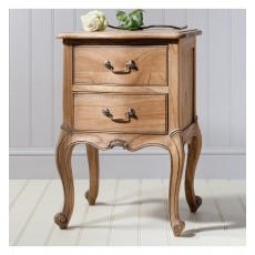 Frank Hudson Chic Bedside Table Weathered
