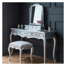 Frank Hudson Chic Dressing Table Silver