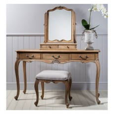 Frank Hudson Chic Dressing Table Weathered