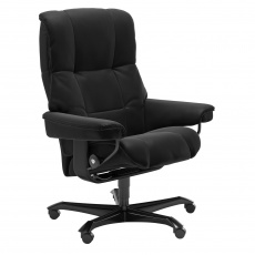 Stressless Mayfair Office Chair - Paloma Black - Quick Ship!