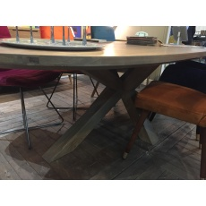 Barkington Oval Table