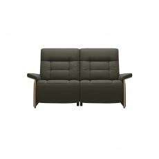 Stressless Mary 2 Seater Sofa With 2 Power Seats - Wood Arms - 3 Colour Options - Quick Ship!