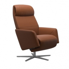 Stressless Scott Power Recliner Chair + Heating + Massage With Sirius Base - In Stock For Quick Delivery!