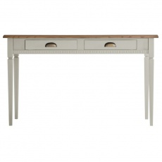 Gallery Bronte 2 Drawer Desk Taupe