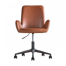Gallery Faraday Swivel Chair Brown