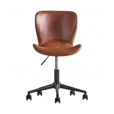 Gallery Mendel Swivel Chair Brown