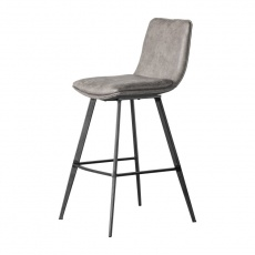 Gallery Palmer Dining Stool Black Legs (2pk)