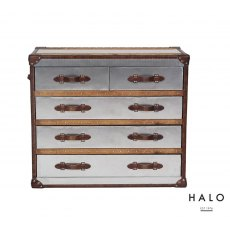 Halo Stonyhurst  Chest In Shiny Steel