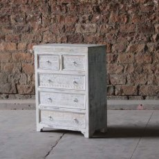 Little Tree Furniture Whiteleaf Reclaimed 5 Drawer Chest