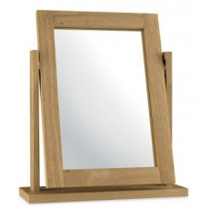 Bentley Designs Atlanta Oak Vanity Mirror