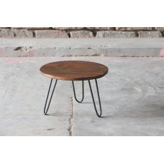 Little Tree Furniture Mary Rose Reclaimed Small Circular Nest Table