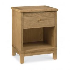 Bentley Designs Atlanta Oak 1 Drawer Nightstand