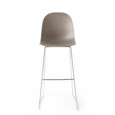 Connubia Calligaris Academy Sleigh Leg Bar Stool