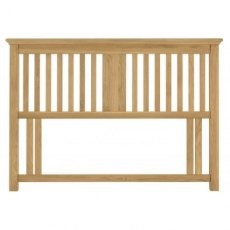 Bentley Designs Hampstead Oak Slatted Headboard