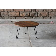Little Tree Furniture Mary Rose Reclaimed Large Circular Nest Table