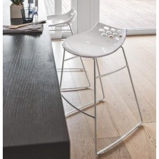 Connubia Calligaris Jam Sleigh Leg Bar Stool