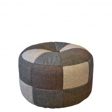 Tetrad Harris Tweed Pumpkin Small Stool