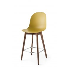 Connubia Calligaris Academy Wood Bar Stool Standard