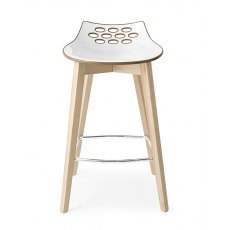 Connubia Calligaris Jam Wood Bar Stool (Standard)