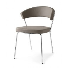 Connubia Calligaris New York Four Leg Chair Skuba