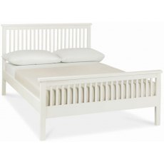 Bentley Designs Atlanta White Bedstead - High foot End