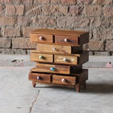 Little Tree Furniture Shimla Reclaimed 8 Multi Drawer Storage Chest