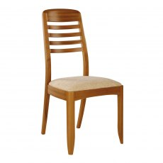 Nathan 3814 Teak Ladder Back Dining Chair