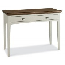 Bentley Designs Hampstead Soft Grey & Walnut Dressing Table