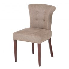 Eichholtz Key Largo Dining Chair Camel Linen