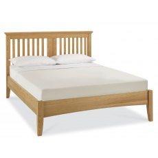 Bentley Designs Hampstead Oak Slatted Bedstead