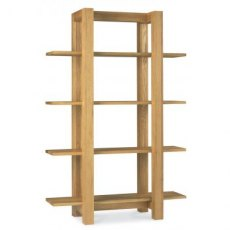 Bentley Designs Lyon Oak Open Shelf Unit