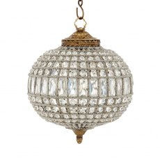 Eichholtz Chandelier Kasbah Oval Brass Finish