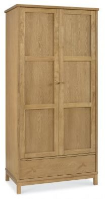 Bentley Designs Atlanta Oak Double Wardrobe