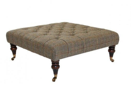 Tetrad Harris Tweed Castlebay stool